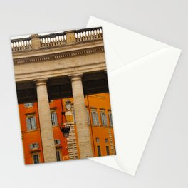 Neighbors to The Pope! Stationery Cards