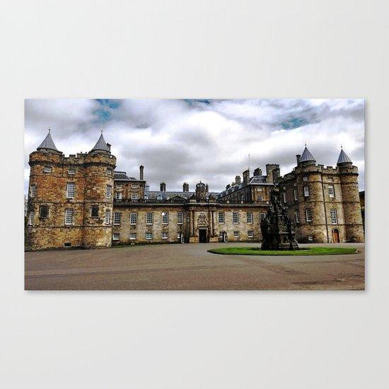 Holyrood Palace - Edinburgh United, Kingdom - Scotland Canvas Print