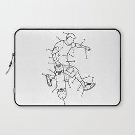 Skater parts Laptop Sleeve