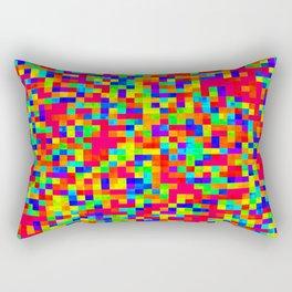 Chromoscope IV ][ Revert Future Raster Rectangular Pillow