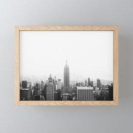 NEW YORK CITY Framed Mini Art Print