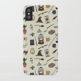 Harry pattern iPhone Case