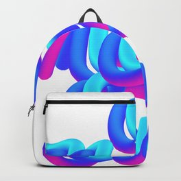A new sun typography 3d M83 Backpack