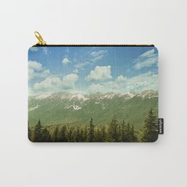 Summer mountain landscape Carry-All Pouch