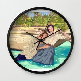 Claire&Jamie Wall Clock