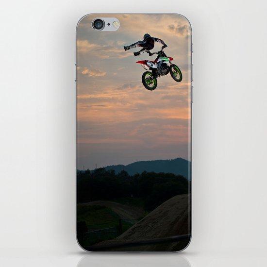 Yuuya Takano Flying at Sunset, FMX Japan iPhone & iPod Skin