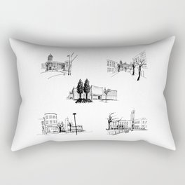 crouch end icons Rectangular Pillow