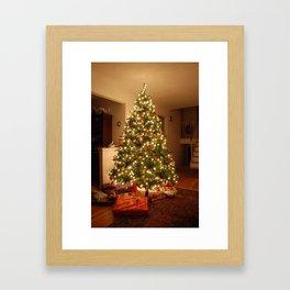 Christmas Tree - True Framed Art Print