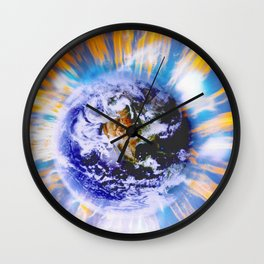 Earth in Sudden Geomagnetic Reversal Wall Clock
