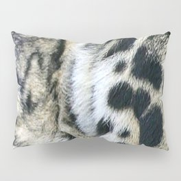 Clouded Leopard Pillow Sham