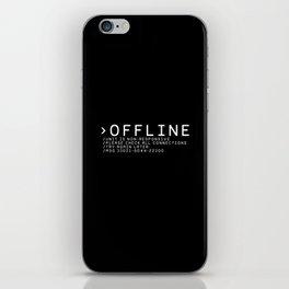 OFFLINE iPhone Skin
