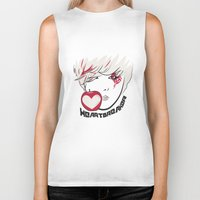 kpop Biker Tanks featuring Heartbreaker [G-Dragon] by Ruwah