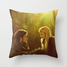 Nice To Meet You Throw Pillow