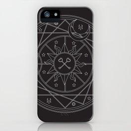 Witch's Mandala iPhone Case