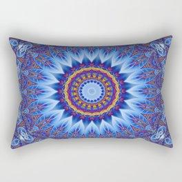 Mandala Sahasrara Rectangular Pillow