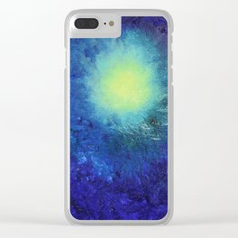 """""""Forming The Pacific Rim"""" with poem: Amazing Clear iPhone Case"""