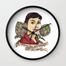 Amélie Poulain Wall Clock