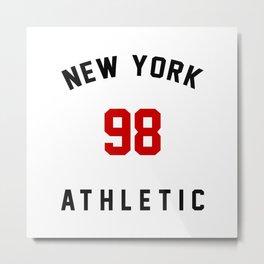 New York Athletic 98 Metal Print