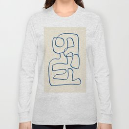 Abstract line art 16 Long Sleeve T-shirt