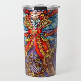 A Pirate at Carnevale Travel Mug