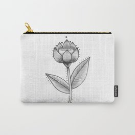 Lotus Be  Carry-All Pouch