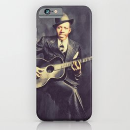 Robert Johnson, Music Legend iPhone Case