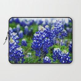 Texas Blue Bonnets Laptop Sleeve