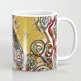 Garden Path Mosaic - Abstract Art by Fluid Nature Coffee Mug