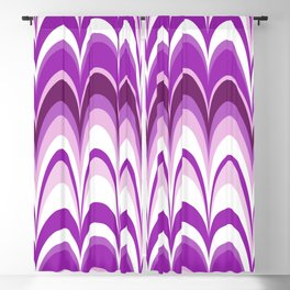 Marbling Comb - Blackberry Blackout Curtain