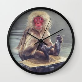 And...relax Wall Clock