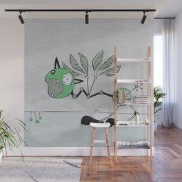 Very Green Schrieky Wall Mural