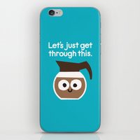 iPhone & iPod Skins featuring Grounds For Determination by David Olenick