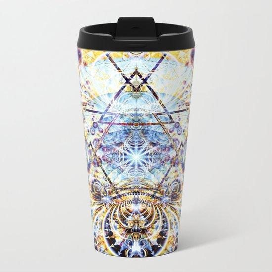 Psyberdelic Intensity Metal Travel Mug