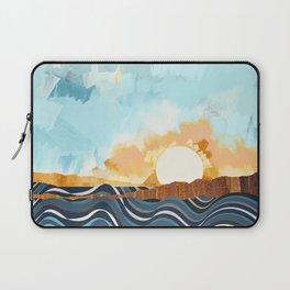 Summer Beach Sunset Laptop Sleeve