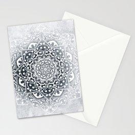 WINTER VIBES MANDALA Stationery Cards
