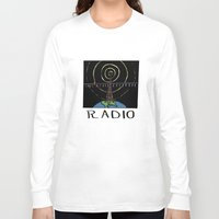 radio Long Sleeve T-shirts featuring Radio by Ken Coleman