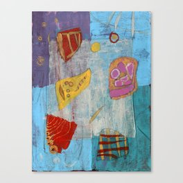 Colours and Shapes (Abstract) Canvas Print