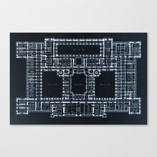 The Plan Canvas Print