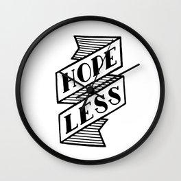 Hopeless Wall Clock