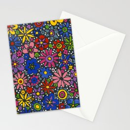 Mille Fleurs by Nettwork2Design - Nettie Heron-Middleton Stationery Cards