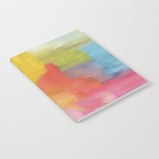 Watercolor A. 01 Notebook