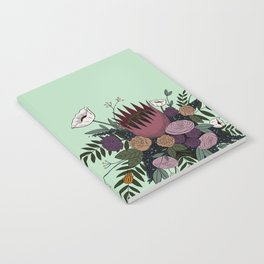 Beetles and Flowers Notebook
