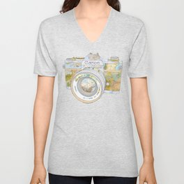 TRAVEL CAN0N Unisex V-Neck