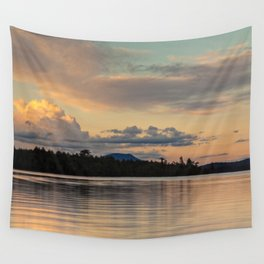 at sunset Wall Tapestry