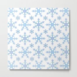 Let it Snow Mix 2 Metal Print