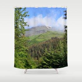 Summer Greens! Shower Curtain