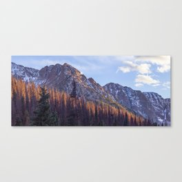 Dusk in Chicago Basin Canvas Print
