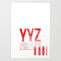 YYZ Art Print