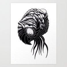 Brain Feeder Art Print