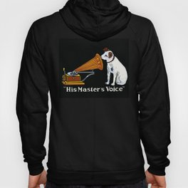 Retro his master's voice, Nipper the Dog Hoody